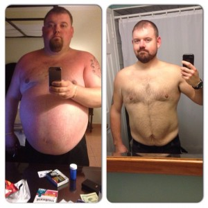 Mike Cowley before & after